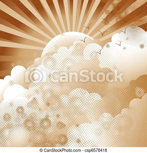Cloudscape - csp6578418