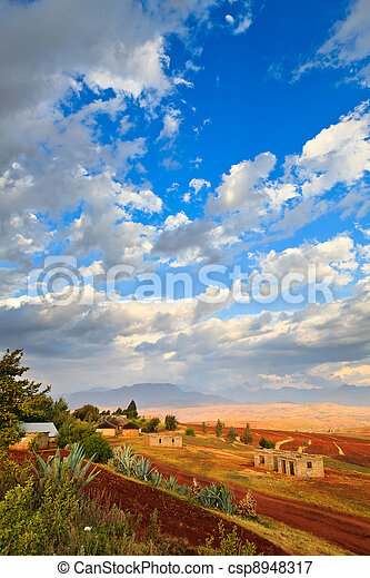 Cloudsscape in the mountains - csp8948317