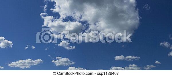 cloudy sky panorama - csp1128407