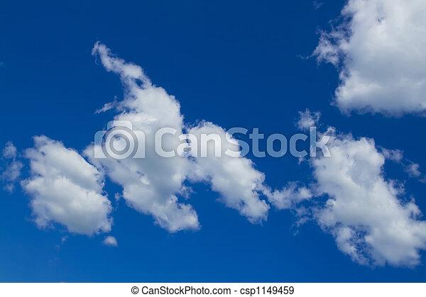 cloudy sky panorama - csp1149459