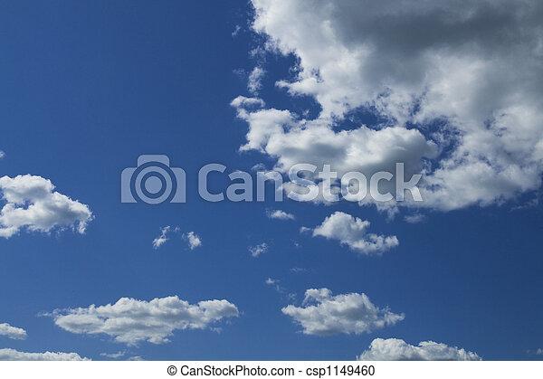 cloudy sky panorama - csp1149460