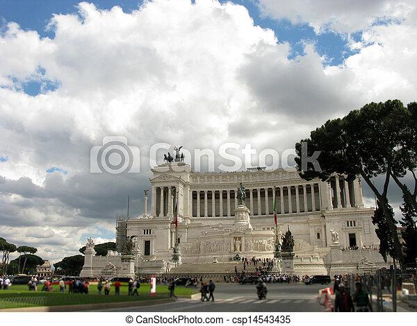 Cloudy Vittoriano - csp14543435