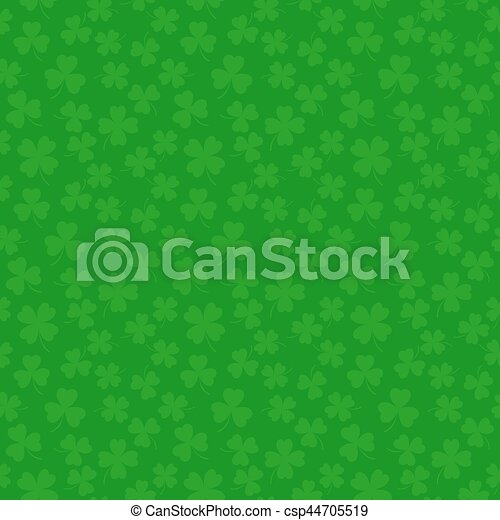 Clover leaves seamless vector pattern st patricks day green clover leaves seamless vector pattern st patricks day green background shamrock wallpaper voltagebd Image collections