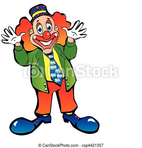 clown. - csp4421357
