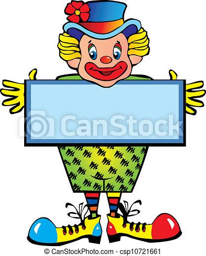 Clown. - csp10721661