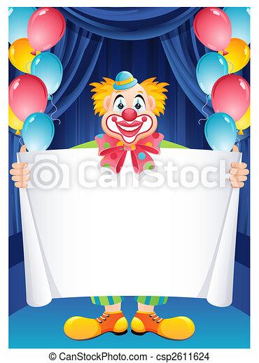 Clown - csp2611624