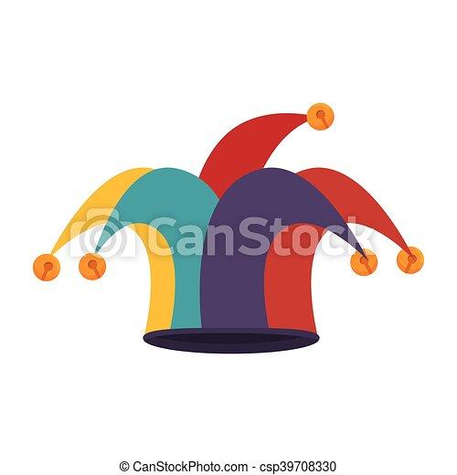 clown jester hat - csp39708330