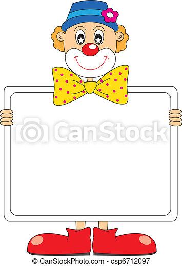 clown., lustiges - csp6712097