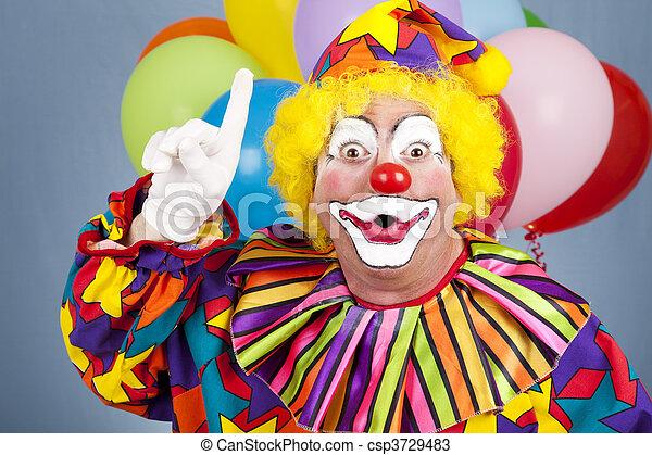Clown With Idea - csp3729483