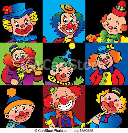 clowns. - csp4850625