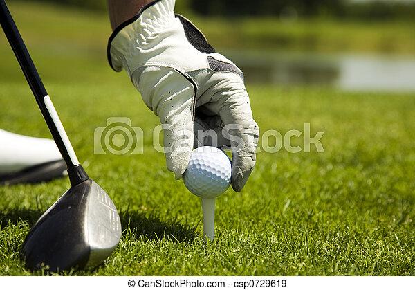 Club de golf - csp0729619