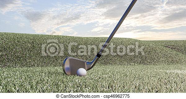 Club de golf - csp46962775