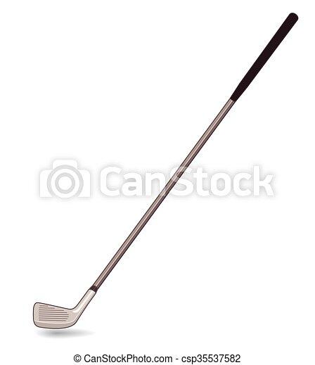 club, golf - csp35537582