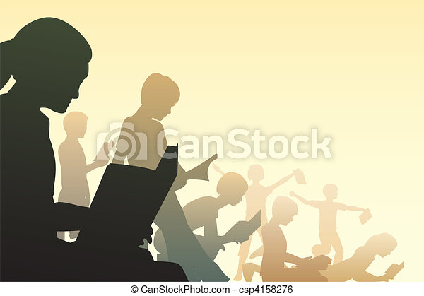 Club de lectura - csp4158276