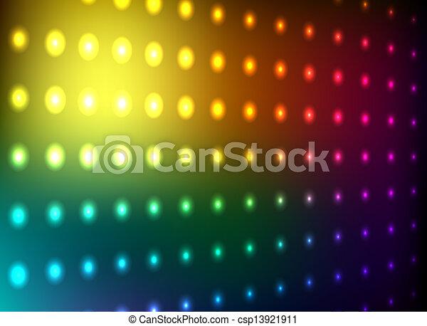 club, lumière, mur - csp13921911