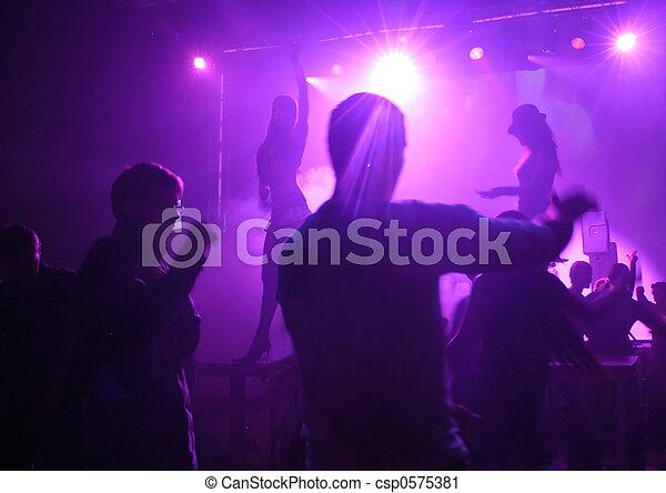 Club Nigt - csp0575381