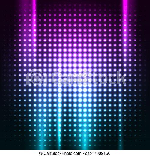 club, résumé, coloré, fond, disco - csp17009166
