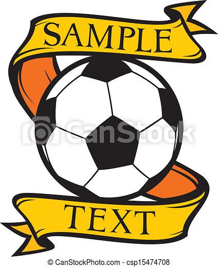 El símbolo del club de fútbol - csp15474708