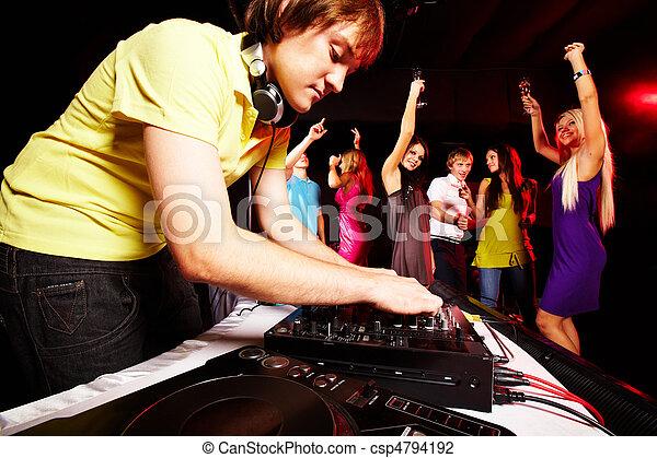 clubbing - csp4794192