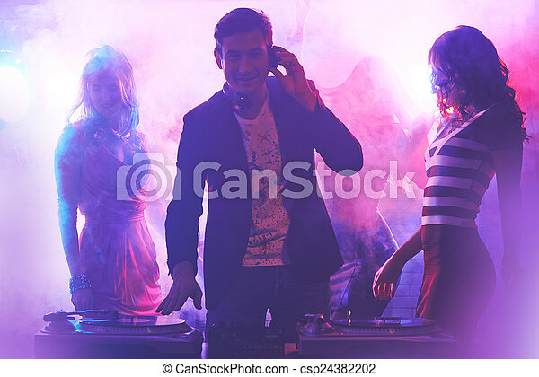 Clubbing - csp24382202