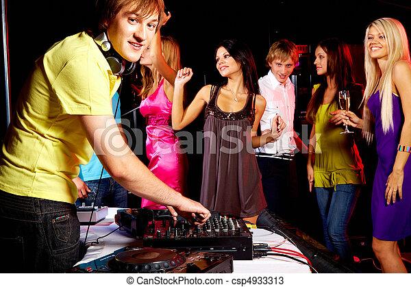 Clubbing - csp4933313
