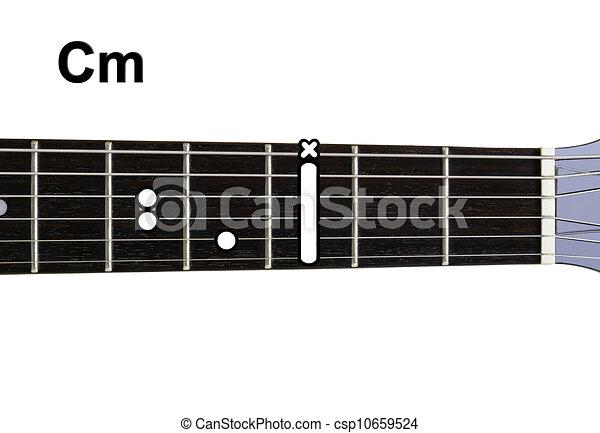 Cm., series., akkorde, -, gitarre, diagramme Clipart - Suche ...