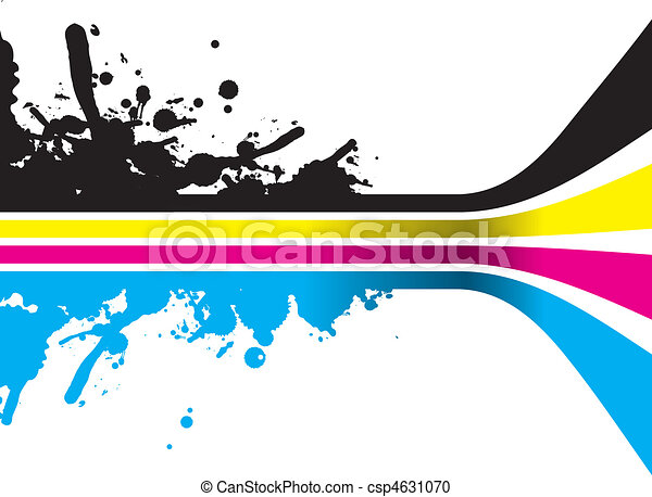 cmyk lines - csp4631070