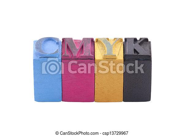 Cmyk - csp13729967