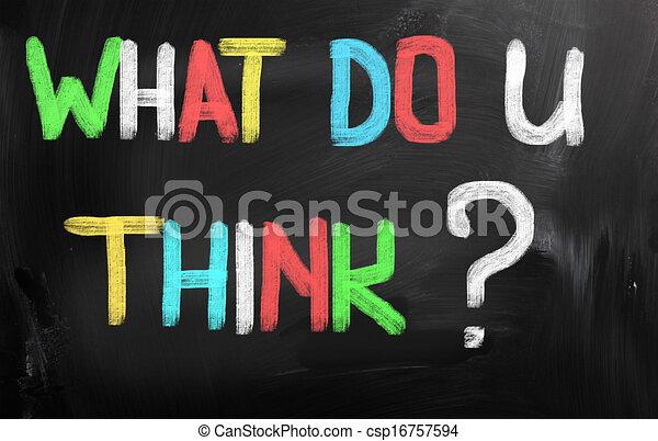 co, pojęcie, ty, myśleć - csp16757594