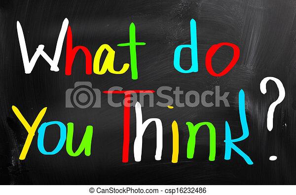 co, pojęcie, ty, myśleć - csp16232486
