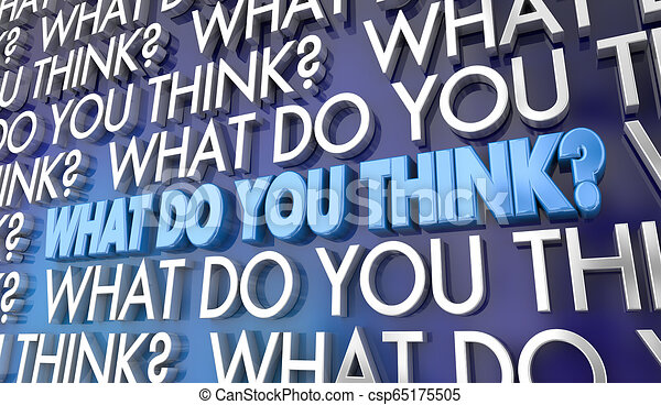 co, punkt widzenia, ilustracja, twój, słówko, zdanie, ty, myśleć, 3d - csp65175505