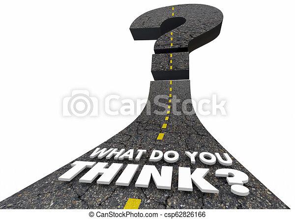 co, pytanie, ilustracja, marka, ty, myśleć, droga, 3d - csp62826166