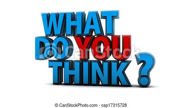 co, pytanie, ty, myśleć - csp17315728