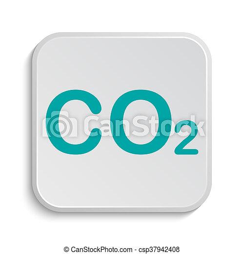 CO2 icon - csp37942408
