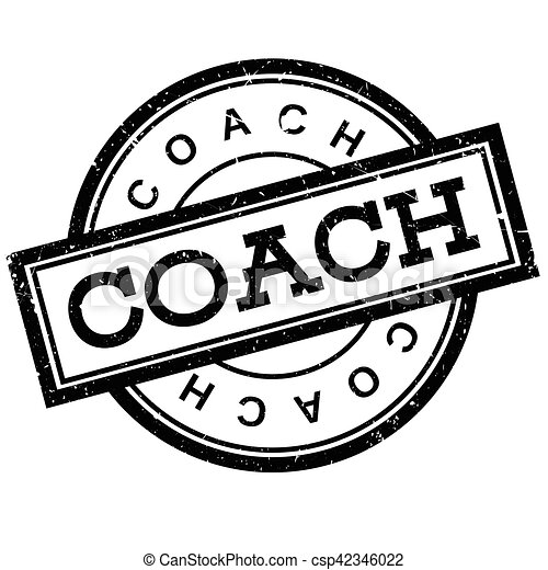 Coach rubber stamp - csp42346022