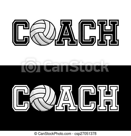 Coach T-shirt Typography Vector - csp27051378