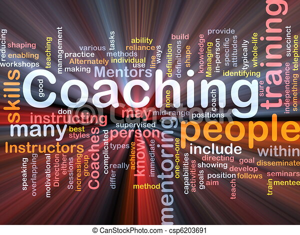 Coaching background concept - csp6203691