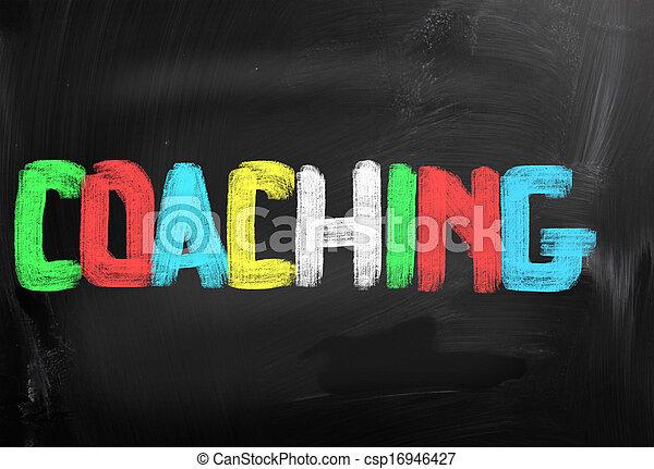 Coaching Concept - csp16946427