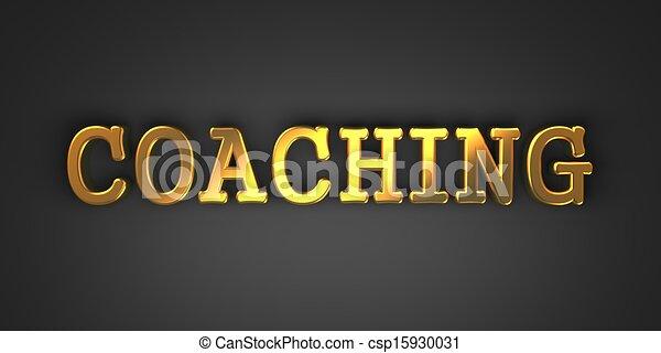 coaching., concept., zakelijk - csp15930031