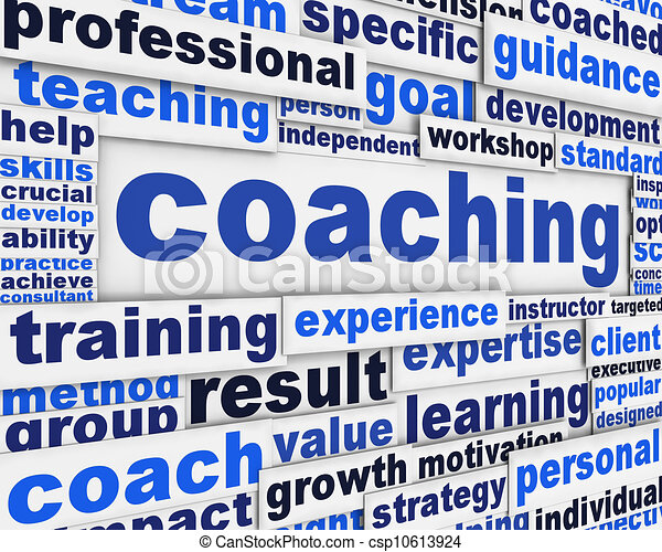 Coaching message conceptual design - csp10613924