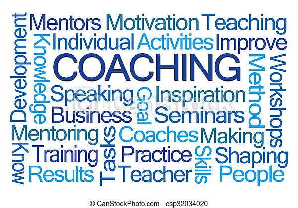 Coaching Word Cloud - csp32034020