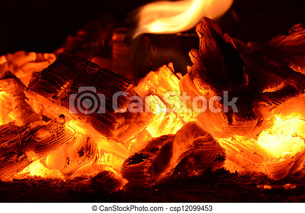 Coal Ashes Fire Flame Firewood