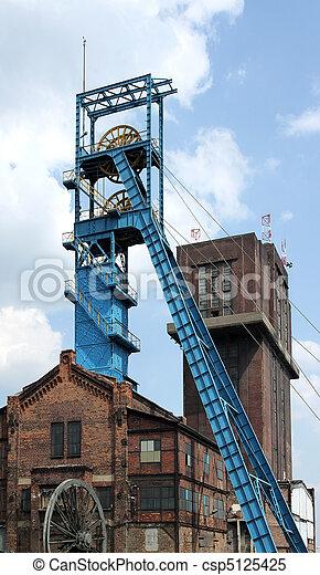 Coal mine shaft - csp5125425