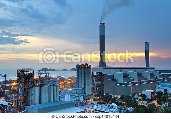 Coal power station - csp14015444