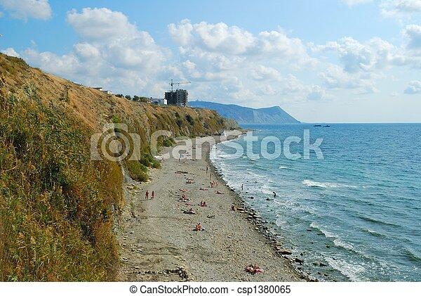 Coast of Black sea - csp1380065