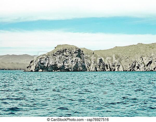 Coast of Lake - csp76927516