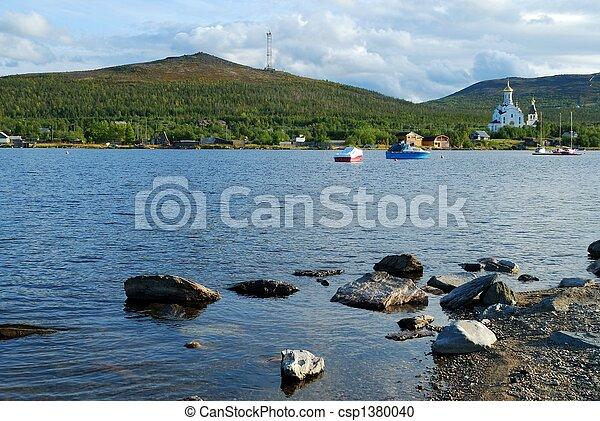 Coast of lake - csp1380040