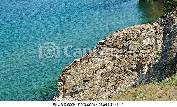 coast of Olkhon island, - csp41817117