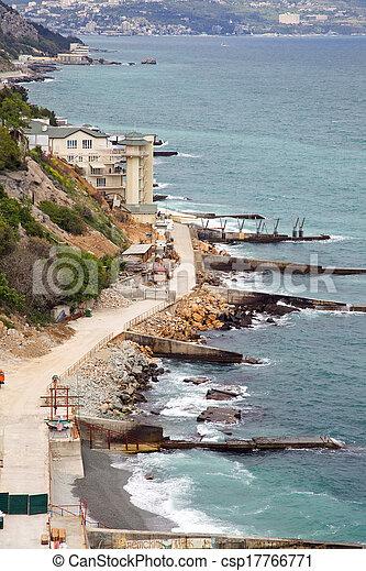 Coast of the Black sea - csp17766771