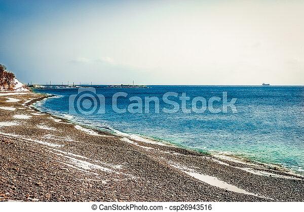 Coast of the Black Sea - csp26943516